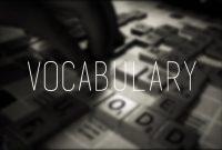 4 Tips Jitu Cara Belajar Vocabulary Dengan Mudah