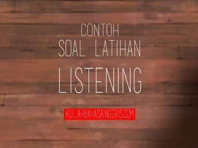 soal listening