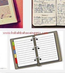 3 Contoh Diary Dalam Bahasa Inggris Mengenai Kehidupan Sehari-hari