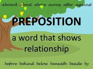 50 Daftar Preposition dalam Bahasa Inggris yang Sering Digunakan Sehari-hari.