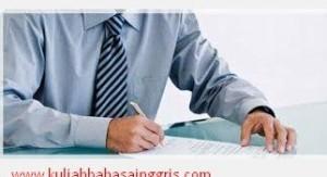 Contoh Surat Lamaran Kerja Sebagai Guru Dalam Bahasa Inggris Terbaru