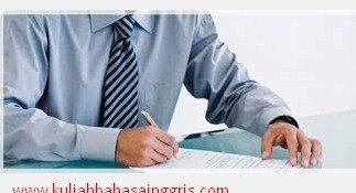 Contoh Surat Lamaran Kerja Sebagai Guru Dalam Bahasa Inggris