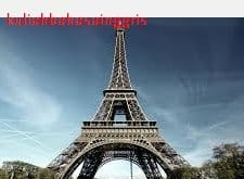 Contoh Descriptive Text Tentang Menara Eiffel Eiffel Tower