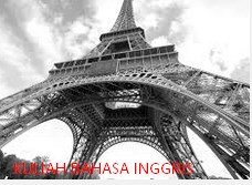 Contoh Explanation Text About Eiffel Tower Beserta Artinya