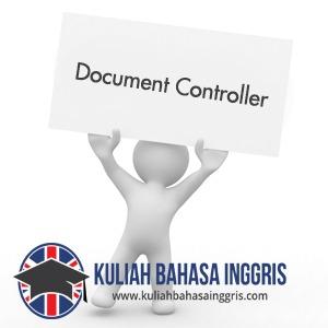 Contoh Surat Lamaran Kerja Bahasa Inggris DOCUMENT CONTROLLER Yang Baik Dan Benar
