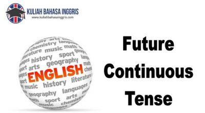 Pengertian,Rumus dan Contoh Future Continuous Tense LENGKAP