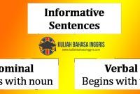 """Pengertian Dan Contoh Kalimat Nominal Dan Verbal Dalam Bahasa Inggris """"LENGKAP"""""""