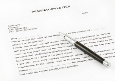Contoh Surat Pengunduran Diri Bahasa Inggris Doc