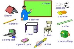 Kata Benda Bahasa Inggris yang Ada di Sekolah Terlengkap