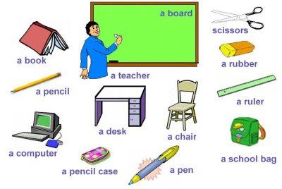 Kata Benda Bahasa Inggris Yang Ada Di Sekolah Terlengkap Kuliahbahasainggris Com