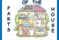 """Nama Bagian Rumah dalam Bahasa Inggris (Part of the House Vocabulary) """"LENGKAP"""""""