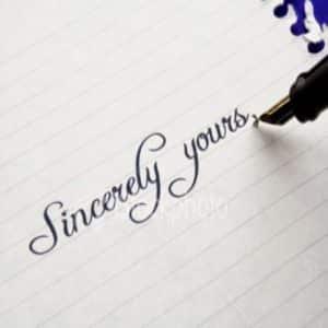 Penggunaan Kata Penutup Surat pada Bahasa Inggris