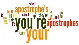Penggunaan Apostrophe (Tanda Kutip) dalam Bahasa Inggris