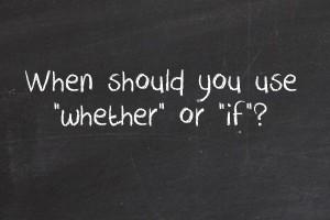 Pengertian Serta Penggunaan If dan Whether dalam Kalimat Bahasa Inggris