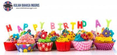 Ucapan Selamat Ulang Tahun dalam Bahasa Inggris Beserta Artinya