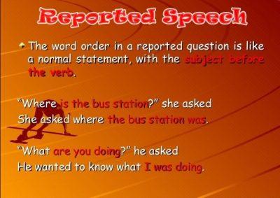 Contoh Kalimat Reported Speech Present Tense Bahasa Inggris dan Artinya