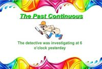 Kumpulan Contoh Kalimat Past Continuous Tense dan Penjelasannya