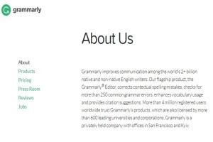 Contoh Halaman About Us Pada Website Bahasa Inggris Beserta Artinya 1