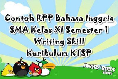 Contoh RPP Bahasa Inggris SMA Kelas XII Semester 1 Listening Skill Kurikulum KTSP