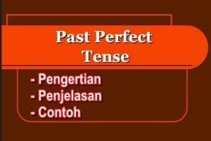 Contoh, Rumus, dan Penjelasan, Past Perfect Tense dalam Bahasa Inggris