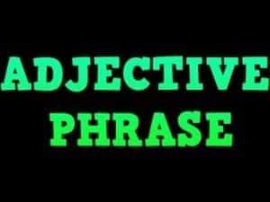 Contoh Kalimat Adjective Phrase Terlengkap