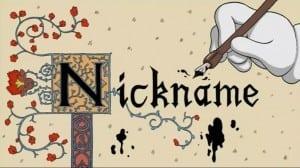 """Penggunaan dan Contoh dari """"Nickname"""""""
