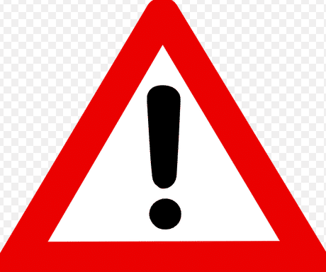 Pengertian, Contoh serta Perbedaan antara Warning, Caution dan Notice dalam Bahasa Inggris