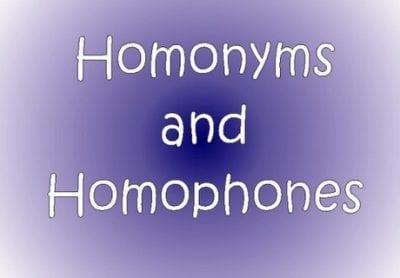 Penjelasan Homonym dan Homophone dalam Bahasa Inggris beserta Kumpulan Kalimatnya