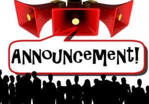 Pengertian,Cara dan Contoh Membuat 'Announcement Text' Lisan dan Tulisan dalam Bahasa Inggris