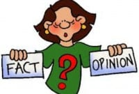 Cara membedakan Fakta (Fact) dan Opini (opinion) dalam Kalimat bahasa inggris yang harus kamu tau