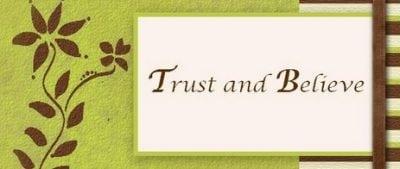 Penggunaan BELIEVE dan BELIEVE IN vs TRUST dan TRUST IN