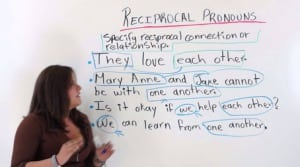 Pengertian serta Penjelasan 'Reciprocal Pronoun' dan Contoh dalam Kalimat Bahasa Inggris