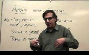 Pengertian, Perbedaan Dan Contoh Amoral Dan Immoral Dalam Kalimat Bahasa Inggris