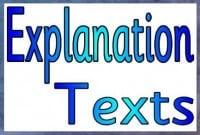 Contoh Explanation Text tentang Gerhana Matahari dan Gerhana Bulan beserta Arti