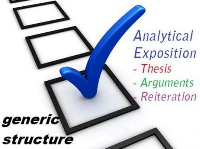 "Pengertian, Fungsi, Generic Structure ""Analytical Exposition"" Beserta Contoh Dalam Kalimat Bahasa Inggris"