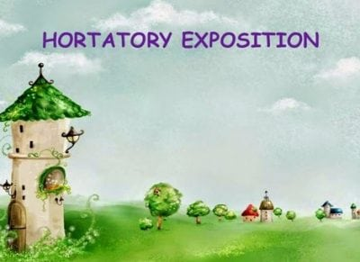 Pengertian Fungsi Ciri Dan Generic Structure Hortatory Exposition