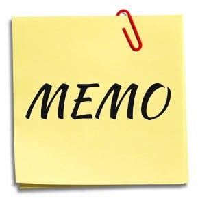 9 Contoh Memo Resmi Dan Tidak Resmi Dalam Bahasa Inggris