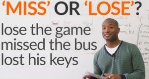 Pengertian, Perbedaan Dan Penggunaan 'Miss vs Lose vs Loose' Serta Contoh Dalam Kalimat Bahasa Inggris
