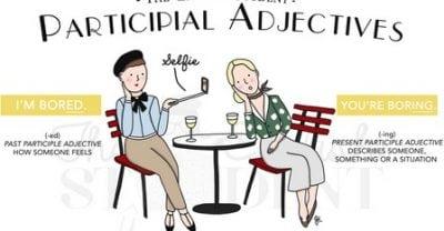 "Pengertian, Fungsi Dan Contoh ""Participial Adjective"" Dalam Bahasa Inggris"