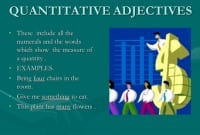 "Pengertian, Jenis Dan Contoh ""Quantitative Adjective"" Dalam Kalimat Bahasa Inggris"
