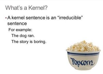 "Pengertian Dan Contoh ""Kernel Sentence"" Dalam Bahasa Inggris"