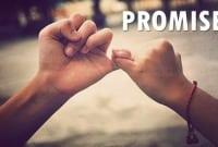 """Contoh Dialog Mengungkapkan Janji """"Expressing Promise"""" Dalam Bahasa Inggris Beserta Artinya"""