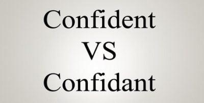 """Perbedaan Dan Penjelasan Lengkap """"Confident vs Confidant"""" Dalam Bahasa Inggris"""