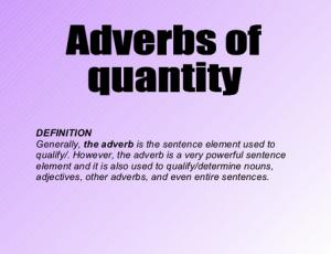 """Pengertian, Macam Dan Contoh """"Adverb Of Quantity"""" Dalam Bahasa Inggris"""