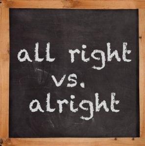 Penggunaan 'All right vs Alright' Dalam Bahasa Inggris Beserta Contoh Lengkap