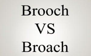 """Perbedaan Dan Contoh """"Broach vs Brooch"""" Dalam Bahasa Inggris"""