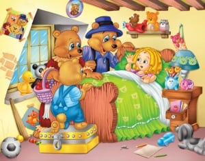 The Story of Goldilocks and the Three Bears