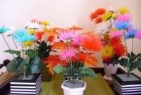 Procedure Text : Cara Membuat Bunga Dari Sedotan Dalam Bahasa Inggris