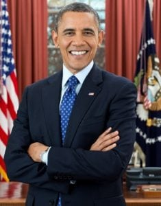 Contoh lengkap Biografi 'Barack Obama' Dalam Bahasa Inggris Beserta Arti