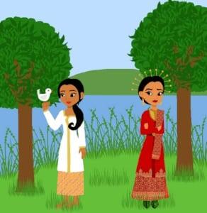 Cerita Bawang Merah Dan Bawang Putih Dalam Bahasa Inggris Beserta